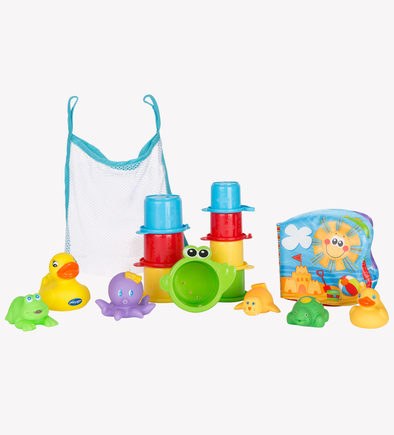 Image result for playgro Bath fun gift pack