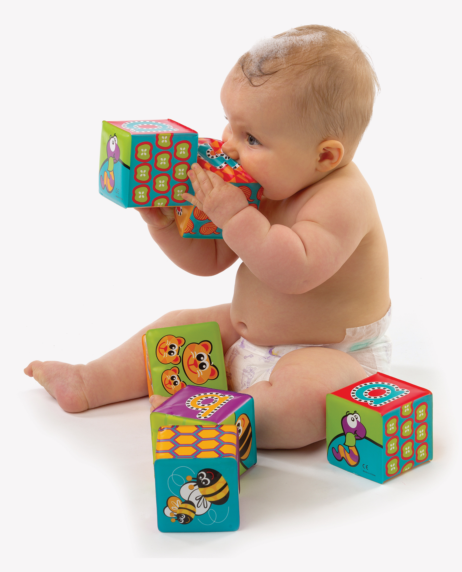 Splash and Learn Bath Soft Blocks