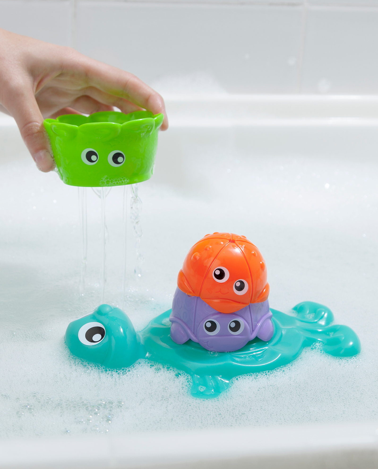 Bath Stacking Cup Friends